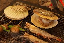 海産物の焼き物